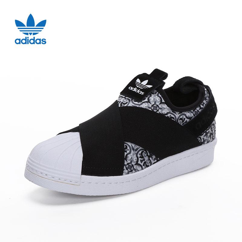 ADIDAS ORIGINALS(阿迪经典)三叶草女经典鞋BY9141