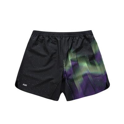 PONY(波尼)全能运动系列男士梭织短裤 74M2ST01BK