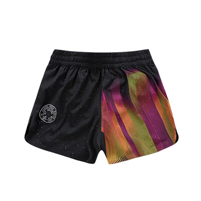 PONY(波尼)全能运动系列女士梭织短裤 74W2ST31BK