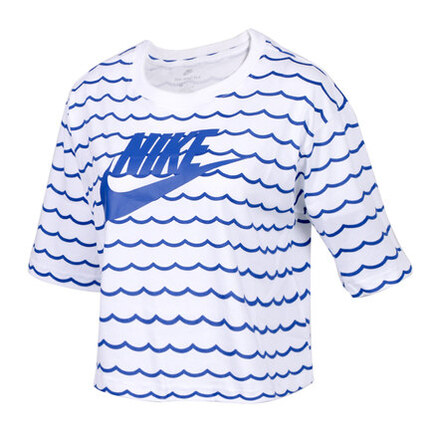 Nike 耐克 女子运动服半袖吸湿排汗透气短袖T恤 AO2761101