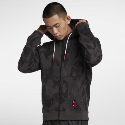 NIKE(耐克)篮球系列男子全长拉链开襟连帽衫AJ3386010