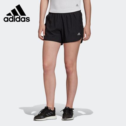 Adidas夏M20 SHORT W跑步女短裤DZ2282